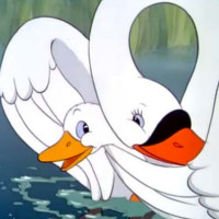 cuento del ganso y el cisne