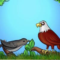 Fábula cuervo aguila