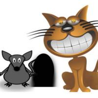 cuento del gato y el rato