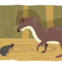 fabula batalla ratones y comadrejas