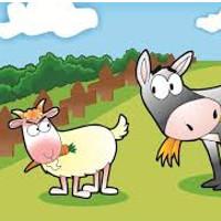 cuento de la cabra con envidia del asno