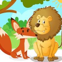 cuento leon y zorro