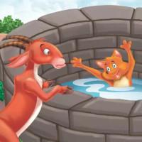 fabula de la zorra y el chivo en el pozo