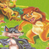 moraleja de la fabula del leon lobo zorro
