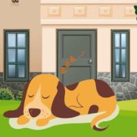 cuento del lobo y el perro dormido