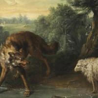 cuento del lobos y los carnero