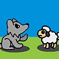 cuento del lobo y el cordero