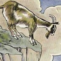 fabula de la cabra y el lobo