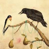 fabula de la corneja y el cuervo