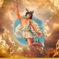 fabula el cuervo y Hermes